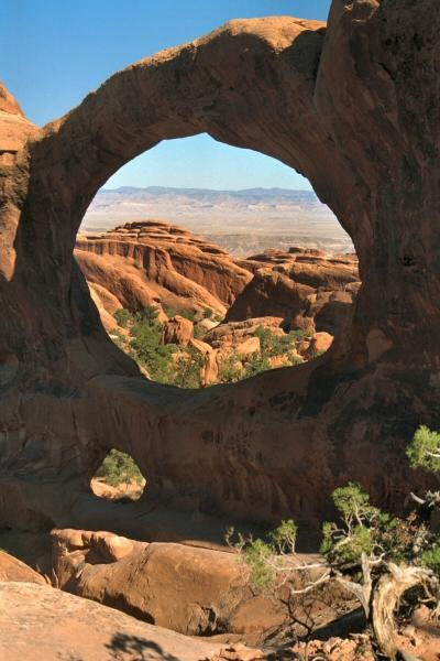 Arches - Double-o-arch, Verenigde Staten