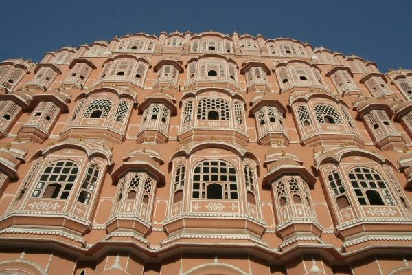 Paleis der Winden in Jaipur